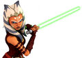 Ahsoka Tano-Lightsaber Training.jpg