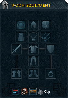 Worn equipment interface
