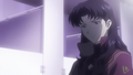 Misato after Shamshel battle.png