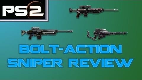 Planetside 2 - Bolt-Action Sniper Review and Comparison - Mr. G4F