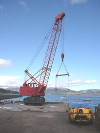 1994 JONES 565M Diesel Crane