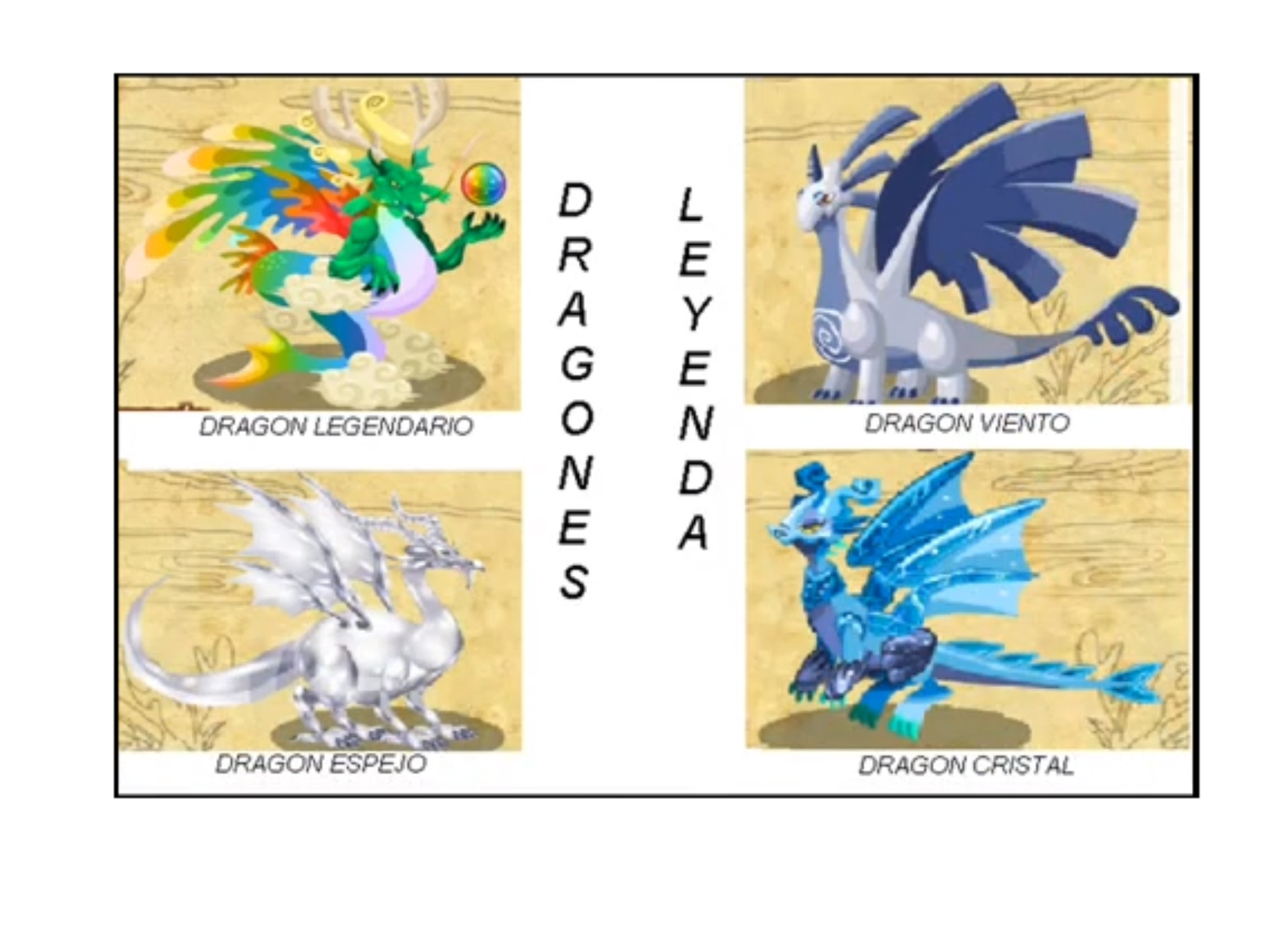 Usuario Blog:Daniel eduardo pj/DRAGONES LEGENDARIOS - Wiki Dragon City