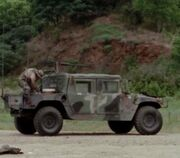 "AM General HMMWV ( High Mobility Multipurpose Wheeled Vehicle ) ""humvee"""