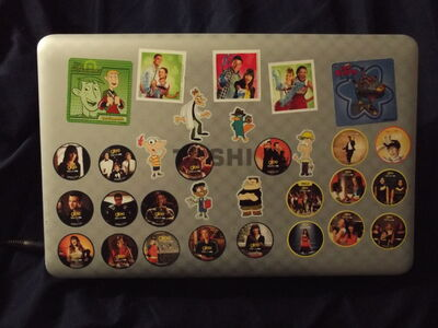 Glee GetGlue Laptop