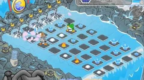 Club Penguin How To Beat Sensei in Card-Jitsu Water