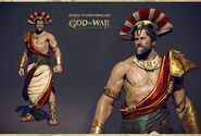 King of Sparta 3D model