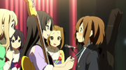 Yui made it in time