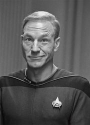 Picard with hair