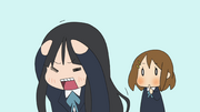 Mio won&#39;t show her forehead