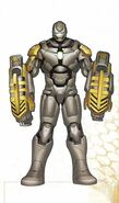Iron Man Armor MK XXV (Earth-199999) 001