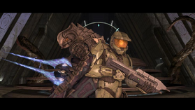 Master chief and the arbiter halo