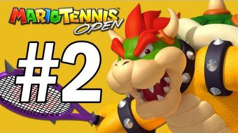 Mario Tennis Open Walkthrough Flower Cup - Part 2