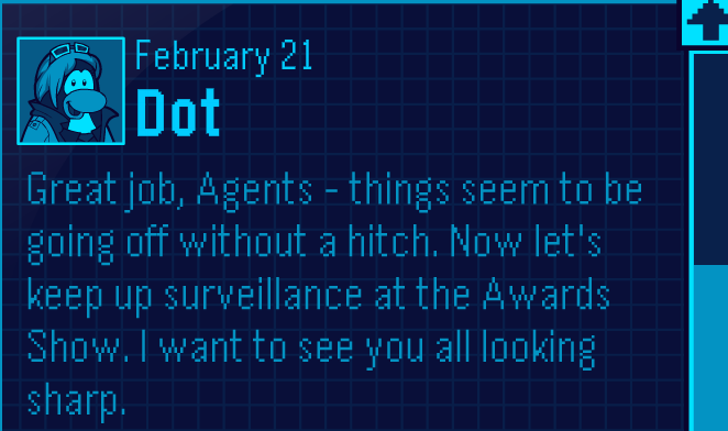 Dot Feb 21 Message