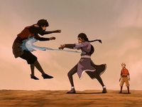 Katara vs Jet