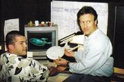 Enterprise-E CGI model under construction at SBS by Eric Saindon and Bruce Jones
