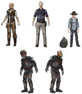 Walking dead figures s4
