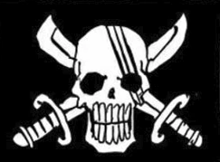 Red Scar Pirate Crew App Red_Hair_Pirates'_Jolly_Roger