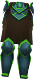 Guthix plateskirt detail