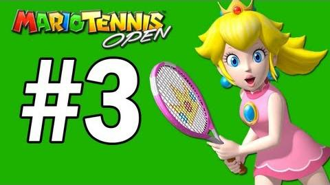 Mario Tennis Open Walkthrough Banana Cup - Part 3