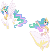 Princess Celestia by trinityinyang