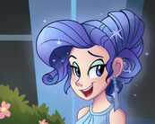 Rarity Crystal Hairstyle by Ric-M