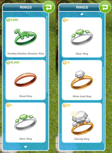 How To Buy Wedding Ring In Sims Freeplay