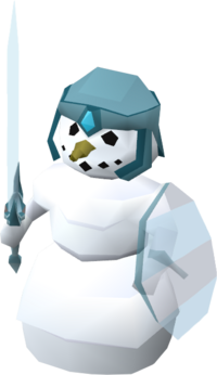Melee snowman