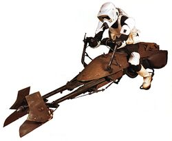 74-Z Military Speeder Bike