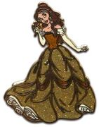 Princess Belle Glitter Dress (Beauty and the Beast)