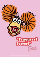 Poster Fraggle Rock-Fraggrrrl Power!