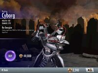 Cyborg Regime Injustice- iOS