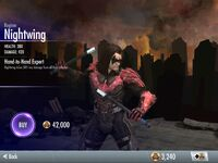 Regime Nightwing Injustice:Gods Among Us iOS