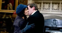 Downton Abbey Lady Sybil and Tom Branson Kiss (They Are Reunited)
