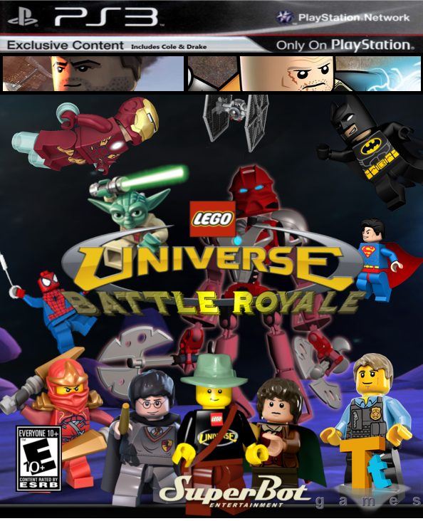 Lego Games For Ps3 : User leehatake lego universe battle royale