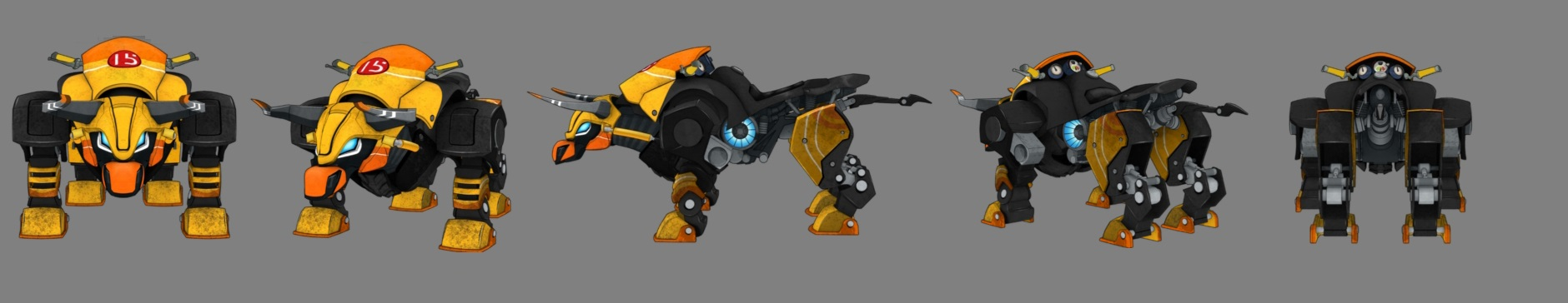 pictures of slugterra all mechabeast