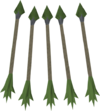 Guthix arrows detail