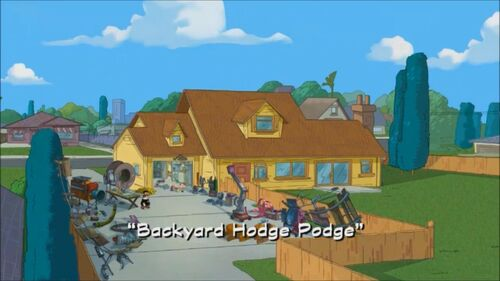 backyard hodge podge phineas and ferb wiki your guide to phineas