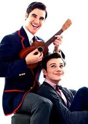 Blaine and kurt