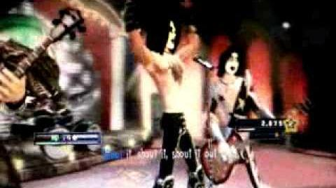 KISS in Guitar Hero 5