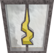 Decorative window (Guthix)