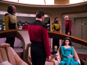 Picard asks for holodeck reenactment