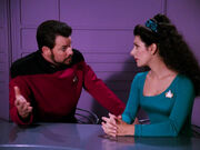 Riker worried at trial