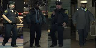 GTA IV Fat cops