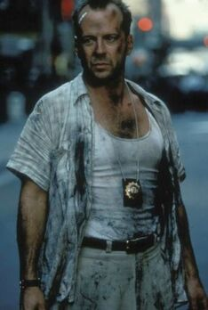 Die Hard with a Vengeance - McClane in wall street 2