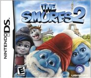 Smurfs 2 Nintendo DS Box Cover