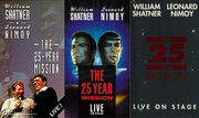 The 25-Year Mission VHS covers