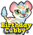 Cubby lion birthday hud