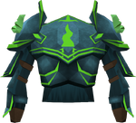 Guthix platebody detail