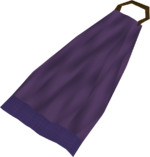 Cape (purple) detail