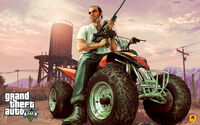 Official Gta V Artwork Trevor